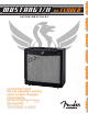 Fender MUSTANG I/II Quick Start Manual