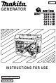 Makita G2800R Instructions For Use Manual