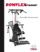 bowflex xtreme assembly instructions