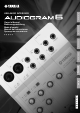 Yamaha Audiogram6 Owner's Manual