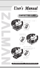 ZALMAN CNPS7700 LED User Manual