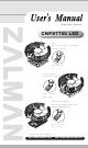 ZALMAN CNPS7700 LED User Manual