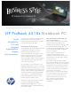 HP 4510s - ProBook - Celeron 1.8 GHz Specifications