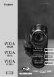 Canon VIXIA HF R400 Quick Manual