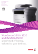 Xerox WorkCentre 3210 Quick Manual