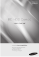 SAMSUNG BD-E8500A User Manual