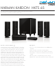 Harman Kardon HKTS 65 Specifications