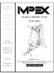 Impex WM-1501 Owner's Manual