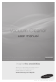 SAMSUNG Vacuum Cleaner User Manual