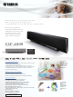 Yamaha YSP-4000 Specification