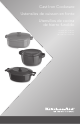 KitchenAid Cast Iron Cookware Instructions Manual