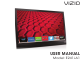 Vizio E241i-A1 User Manual