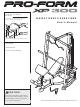 proform xp 300 smith machine