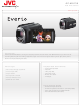 JVC Everio GZ-MG750 Specifications
