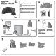 logitech x 530 installation instructions