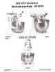 KitchenAid K45SS - Classic - Stand Mixer Service Manual
