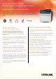 Lexmark CX310 series Brochure & Specs