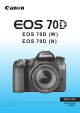 Canon EOS 70DW Instruction Manual