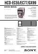 Sony HCD-EC55 Service Manual