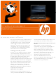 HP 6530b - Compaq Business Notebook Specification Sheet