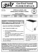 COZY 90N30A Installation And Operating Instructions Manual