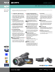 Sony HDR-HC1 Specifications