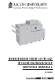 Ricoh B064 Service Manual