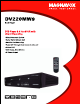 Magnavox DV220MW9 Product Specifications