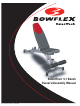 Bowflex SelectTech 5.1 Owner's/assembly Manual