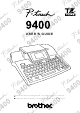Brother 9400 User Manual