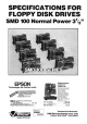 Epson SMD-100 series Specification