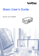 Brother DCP-J4110DW Basic User's Manual