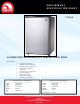 Igloo fr465 Specification Sheet