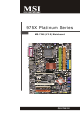 MSI 975X Platinum Series User Manual