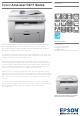 Epson AcuLaser CX17 Series Datasheet