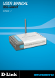 D-Link DSL-G604T User Manual