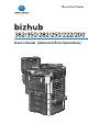 Konica Minolta Bizhub 222 User Manual