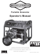 Briggs & Stratton 030470 Operator's Manual