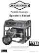Briggs & Stratton 030470 Operator's Manual