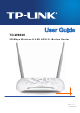Tp Link TD-W8968 User Manual