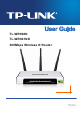 TP-Link TL-WR940N User Manual