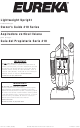 Eureka 410 Series Owner's Manual