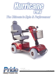 Pride Mobility Hurricane PMV User Manual