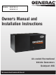 Generac Power Systems 004709-0 Owner's Manual