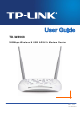TP-Link TD-W8968 User Manual