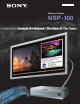 Sony NSP-100 Features & Specifications