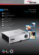 Optoma EX532 Brochure & Specs