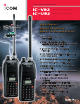ICOM IC-V82 Specifications