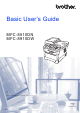 Brother MFC-8510DN User's Manual