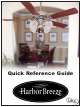 Harbor Breeze Rc103l Quick Reference Manual Page 6 Of 8